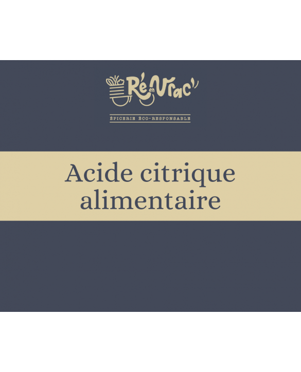Acide citrique alimentaire