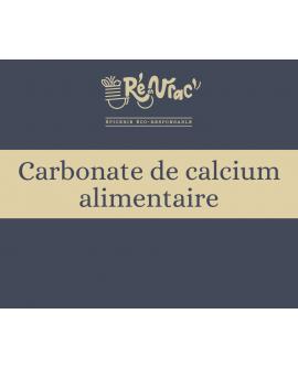 Blanc de Meudon / Carbonate de calcium alimentaire