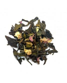 Thé blanc à la rose bio