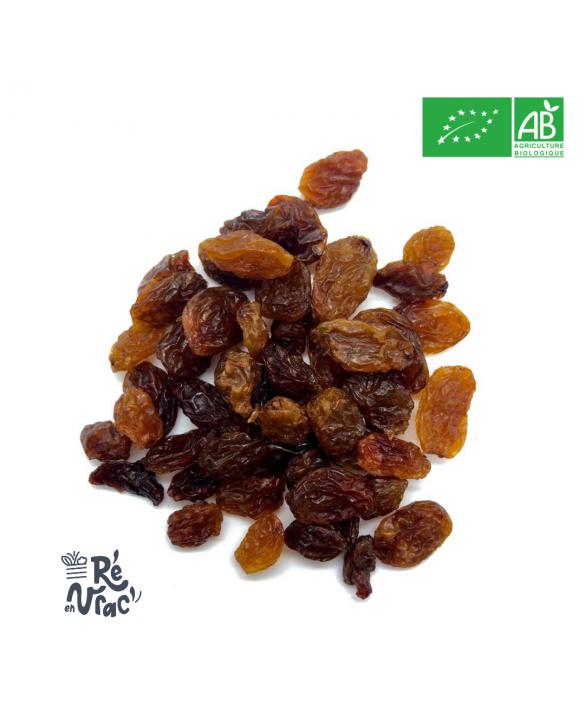 Raisins secs Sultanine bio