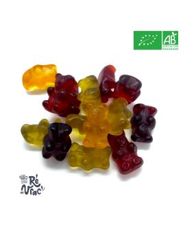 Bonbon oursons bio sans gélatine