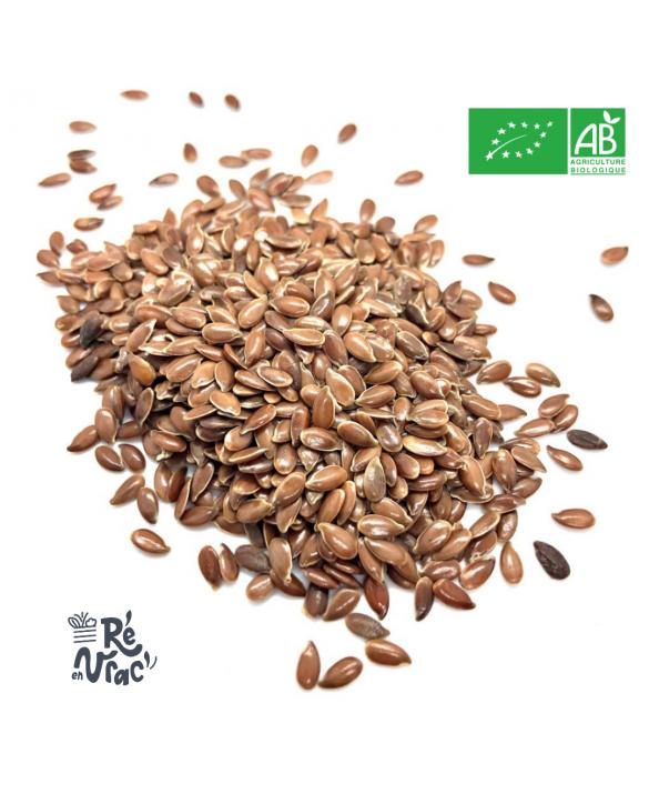 Graines de lin brun bio