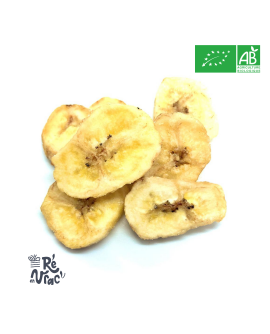 Chips de banane bio
