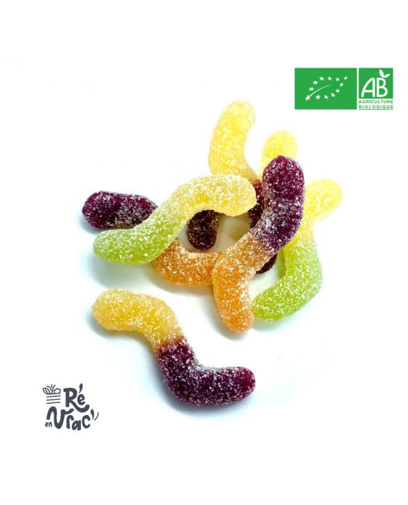 Bonbon bio frutti surettes végan sans gélatine
