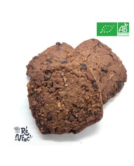 Biscuits avoine et chocolat bio