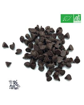 Chocolat noir pépites bio