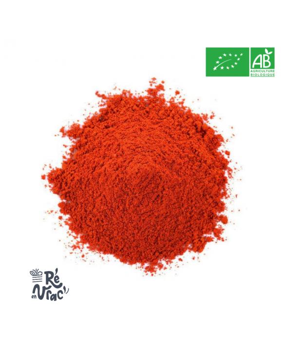 Paprika doux en poudre bio