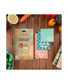 Pack découverte : 3 beewraps Origami