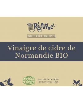 Vinaigre de cidre de Normandie bio